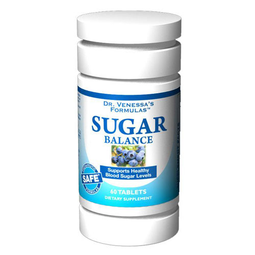 Sugar Balance Support, 60 Tablets, Dr. Venessa's Formulas - CLICK HERE TO LEARN MORE
