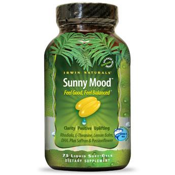 Sunny Mood, 75 Liquid Softgels, Irwin Naturals
