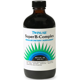 Super B Complex Liquid, Vitamin B Complex 8 oz from Twinlab