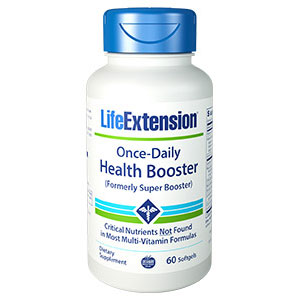 Once-Daily Health Booster (formerly Super Booster), 60 Softgels, Life Extension