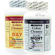 Super Colon Cleanse (Colon Cleansing) Day/Night System 2 bottles from Health Plus Health Fitness Skin Care Beauty Supply Deals
