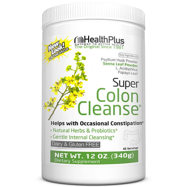 Super Colon Cleanse (Colon Cleansing) 12 oz powder from Health Plus Health Fitness Skin Care Beauty Supply Deals