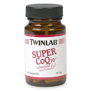 Super CoQ10 50mg 60 caps from Twinlab