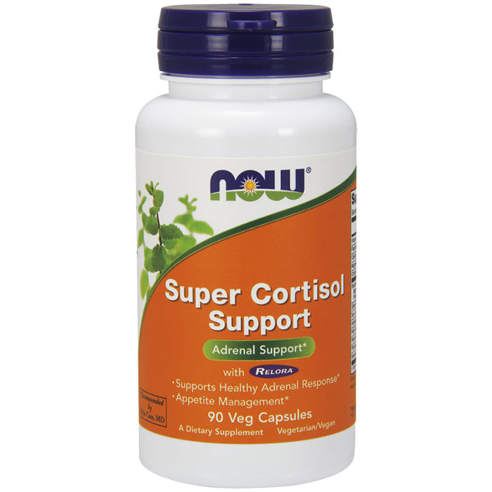 Super Cortisol Support with Relora 90 Vcaps, NOW Foods