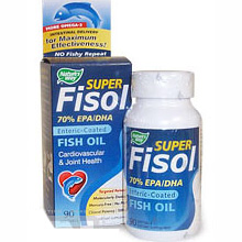 Super Fisol Fish Oil 70% EPA/DHA 90 softgels from Nature's Way