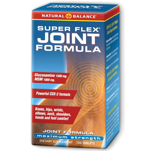 Super Flex Joint Formula, Value Size, 120 Tablets, Natural Balance