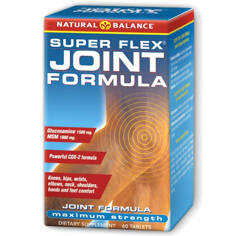 Super Flex Joint Formula, 60 Tablets, Natural Balance