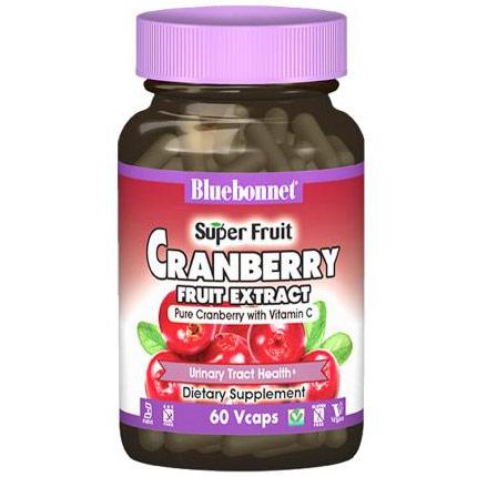 Super Fruit Cranberry Fruit Extract, 120 Vcaps, Bluebonnet Nutrition