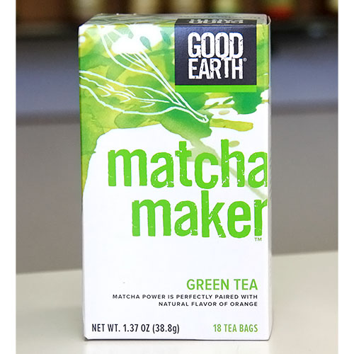 Matcha Maker (Replaces Super Green Tea), 18 Tea Bags, Good Earth Tea