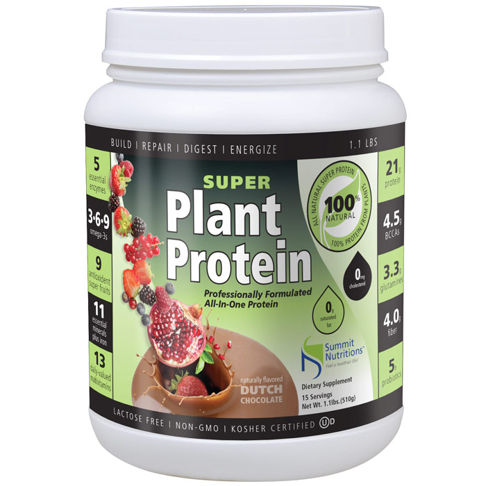 Super Plant Protein, Professionally Formulated All-In-One Protein, 1 lb, Summit Nutritions