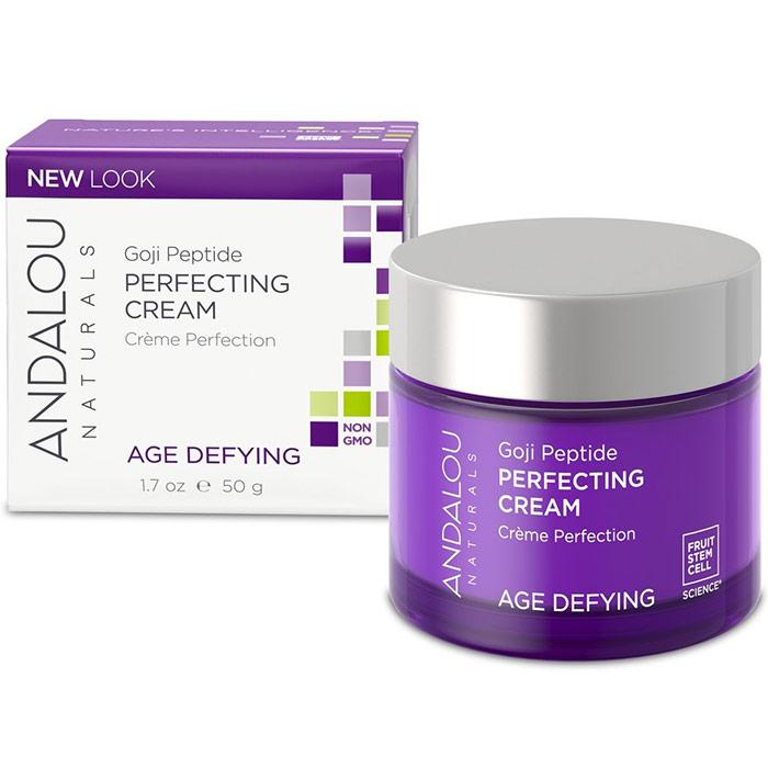 Super Goji Peptide Perfecting Cream, 1.7 oz, Andalou Naturals