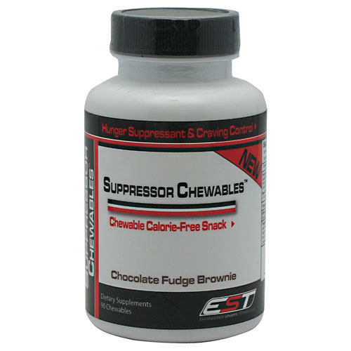 Suppressor Chewables, Calorie-Free Snack, 90 Chews, EST