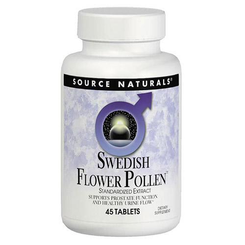 Swedish Flower Pollen Extract 90 tabs from Source Naturals