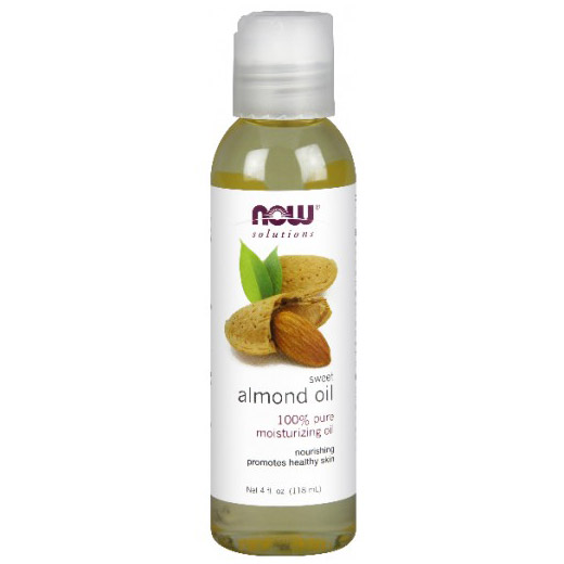 Sweet Almond Oil, Moisturizing & Nourishing, 4 oz, NOW Foods