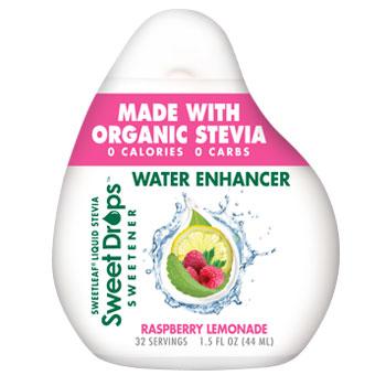 SweetLeaf Stevia Sweet Drop Water Enhancer - Raspberry Lemonade, 1.5 oz, Wisdom Natural Brands