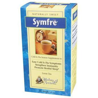 Symfre Herbal Tea (Cold & Flu Tea) 5 oz loose tea from Wisdom Natural Brands