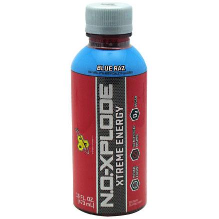 N.O. Xplode RTD, Xtreme Energy Drink, 16 oz x 12 Bottles, BSN