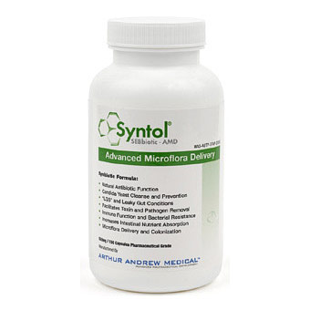 Syntol AMD, Advanced Microflora Delivery, 90 Capsules, Arthur Andrew Medical