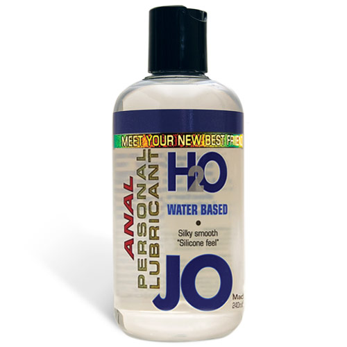 JO Anal H2O Personal Lubricant, Water Based, 8 oz, System JO