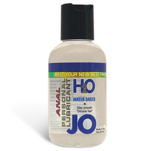 JO Anal H2O Personal Lubricant, Water Based, 2.5 oz, System JO