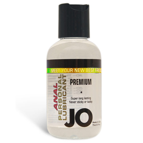 JO Anal Premium Personal Lubricant, Silicone Based, 2.5 oz, System JO