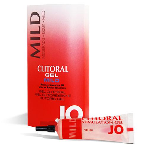 JO Clitoral Stimulating Gel, Mild, 10 cc, System JO