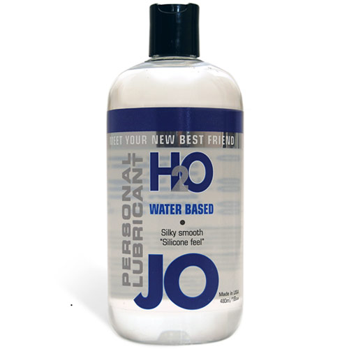JO H2O Personal Lubricant, Water Based, 16 oz, System JO