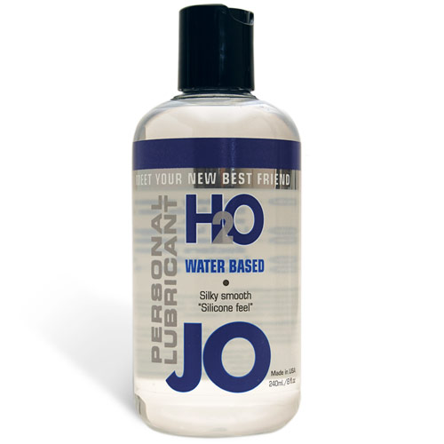 JO H2O Personal Lubricant, Water Based, 8 oz, System JO