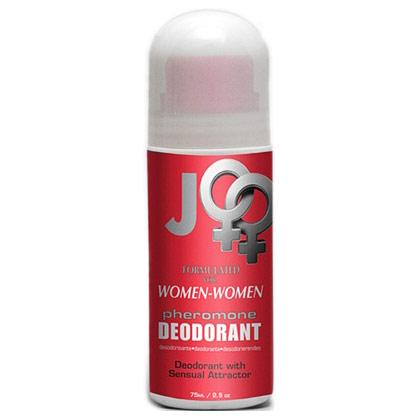 JO Pheromone Deodorant Roll-On for Women to Women, 2.5 oz, System JO