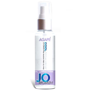 JO Women Agape Cool Personal Lubricant, 2 oz, System JO