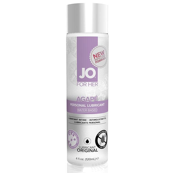 JO Women Agape Personal Lubricant, 4 oz, System JO
