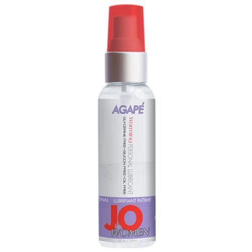 JO Women Agape Warming Personal Lubricant, 2 oz, System JO