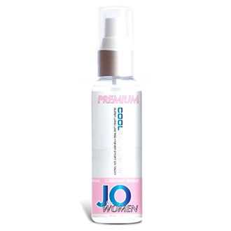 JO Women Premium Cool Personal Lubricant, Silicone Based, 2 oz, System JO