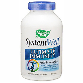 SystemWell Ultimate Immunity 180 tabs from Natures Way