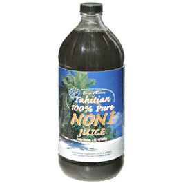 Tahitian 100% Pure Noni Juice, 32 oz, Earths Bounty