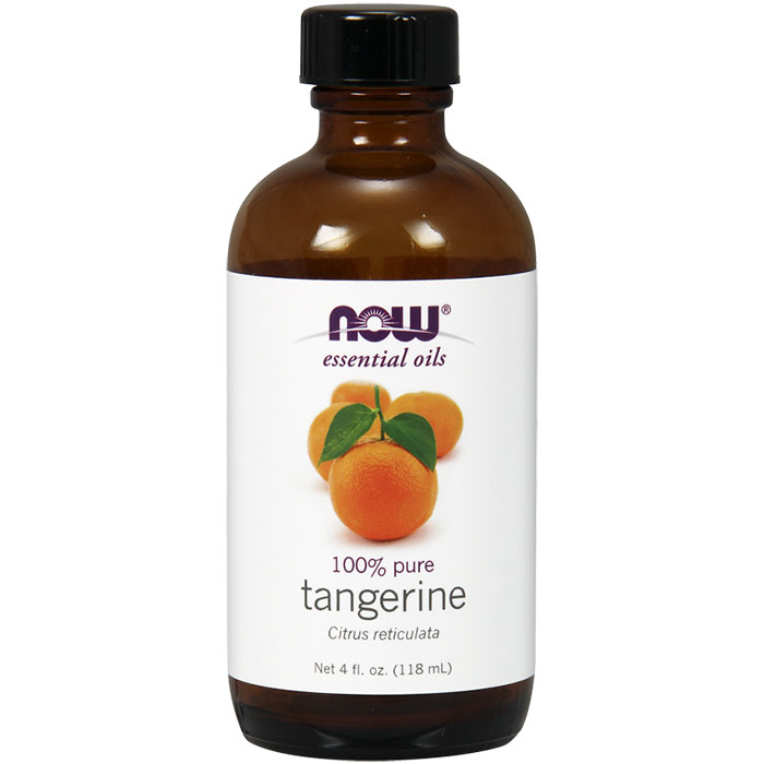 Tangerine Oil, 100% Pure Essential Oil, 4 oz, NOW Foods