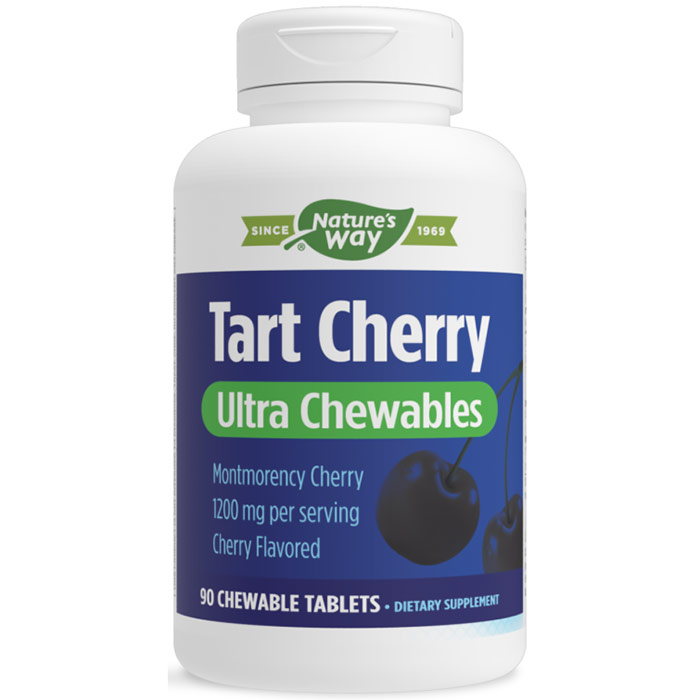 Tart Cherry Ultra Chewable, 90 Chewable Tablets, Enzymatic Therapy