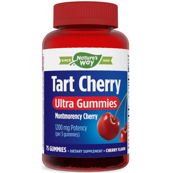 Tart Cherry Ultra Gummies 1200 mg, 75 Gummies, Enzymatic Therapy