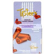 Chocolate Flavored Condoms, 3 Pack, Tastee's Condoms