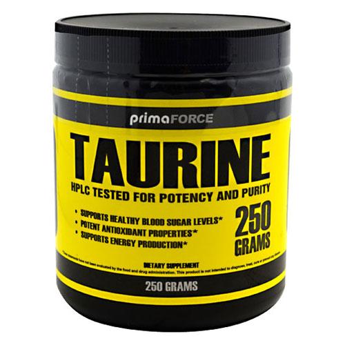 Taurine Powder, 250 g, PrimaForce