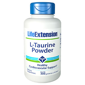L-Taurine Powder, 300 g, Life Extension