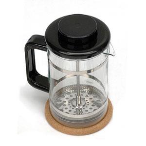 Image of Tea & Coffee Press, Black, 24 oz, StarWest Botanicals