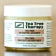 Tea Tree Antiseptic Ointment Cream, 2 oz, Tea Tree Therapy