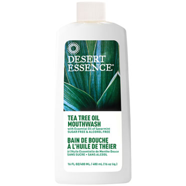 Buy Tea Tree Oil Mouthwash Spearmint 16 oz, Desert Essence