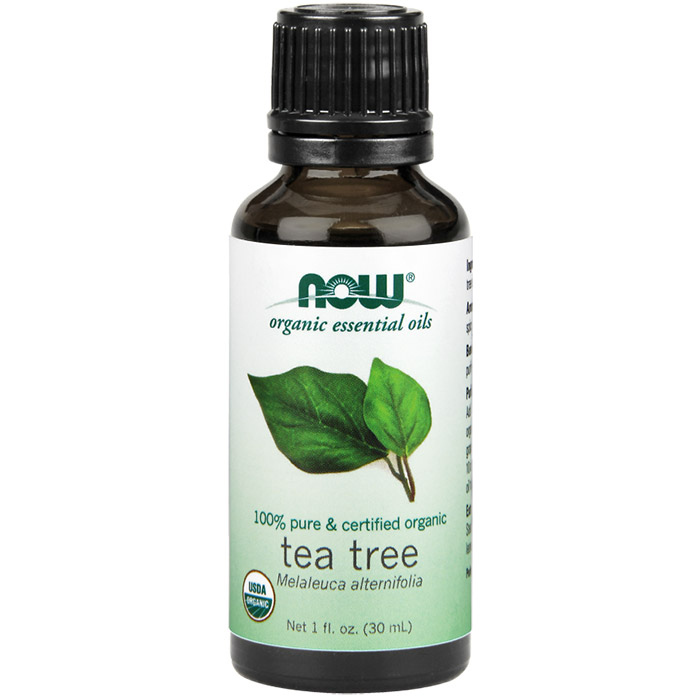 Tea Tree Oil, Organic Essential Oil 1 oz, NOW Foods
