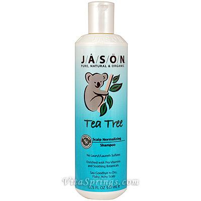 Tea Tree Oil Therapy Shampoo 17.5 oz, Jason Natural