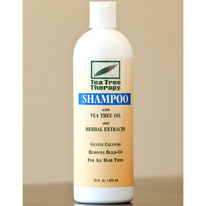 Tea Tree Hair Shampoo, 16 oz, Tea Tree Therapy