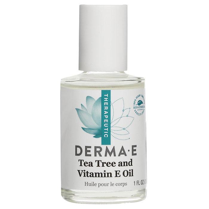 Derma E Tea Tree and Vitamin E Oil, 1 oz