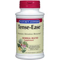 Tense-Ease (Herbal Stress Relief) 90 vegicaps from Nature's Answer