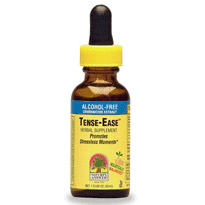 Tense-Ease (Herbal Stress Relief) Alcohol Free Extract Liquid 1 oz from Nature's Answer